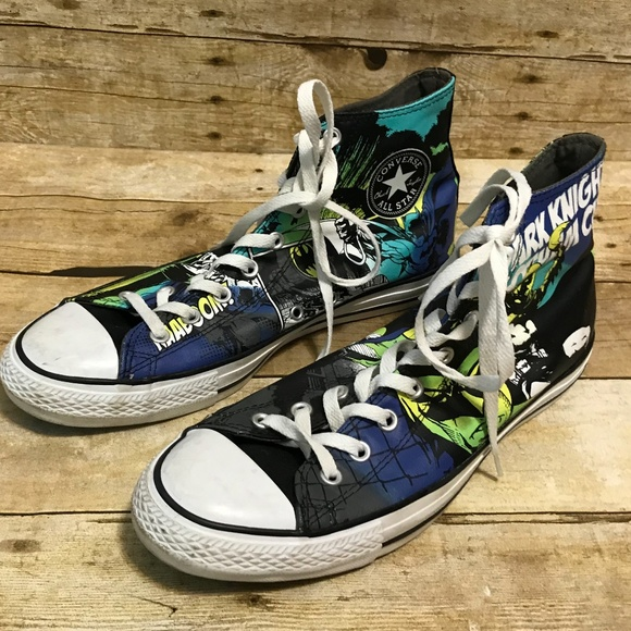 dd787a831465 Converse Other - Converse 11 Batman Chuck Taylor High Top Sneakers